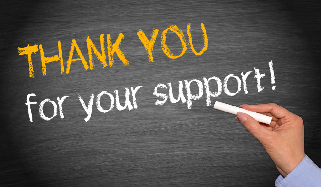 Stories - Thank You For Your Support